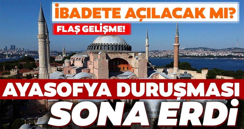 Son dakika haberi: Ayasofya duruşması sona erdi! Ayasofya ibadete açılacak mı? Türkiye, Ayasofya için Danıştay'dan çıkacak kararı bekliyor
