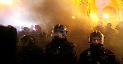 Macaristan'da fazla mesai protestosu devam ediyor