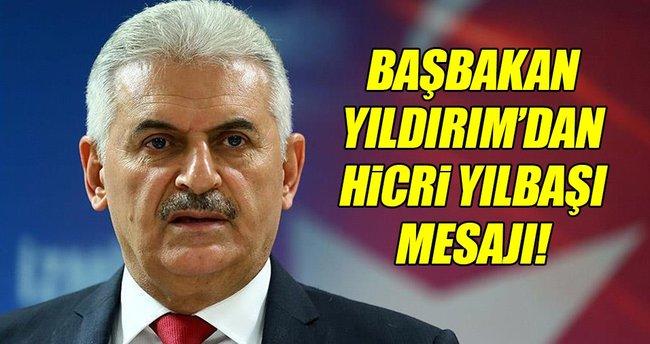 Başbakan Yıldırım'dan hicri yılbaşı mesajı!