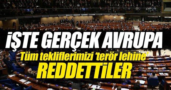 AKPM, Türkiye'nin FETÖ ve PKK önerilerini reddetti