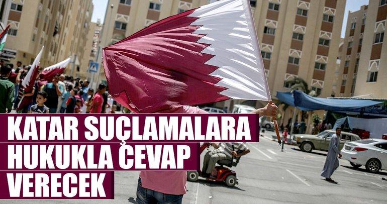 Katar suçlamalara hukukla cevap verecek
