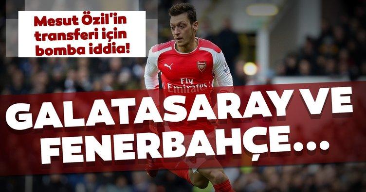 Mesut Özil'in transferi için bomba iddia! Galatasaray ve Fenerbahçe...