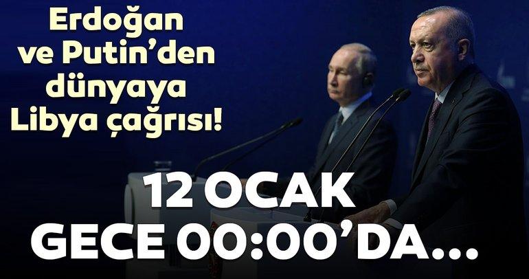 Son Dakika haberi: Bakan Çavuşoğlu duyurdu! Liderlerden Libya'da ateşkes çağrısı...