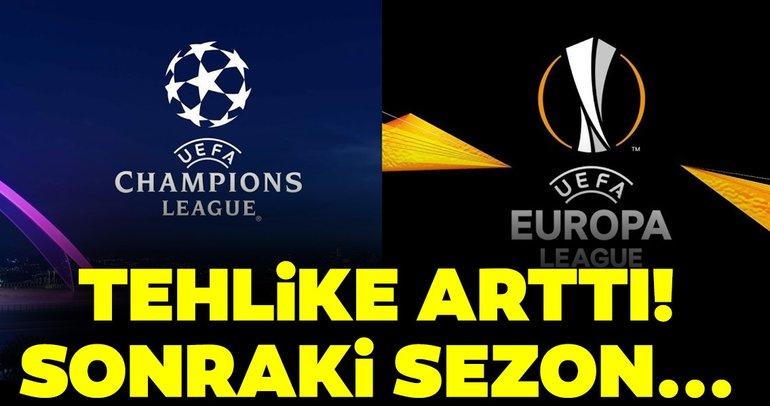Süper Lig şampiyonunu bekleyen tehlike! Ülke puanında risk arttı...