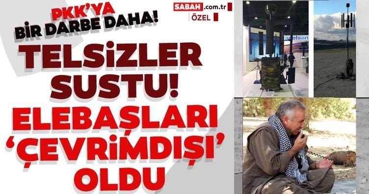 PKK'ya bir darbe daha! Kandil 'çevrimdışı'