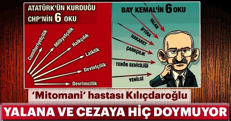 Kılıçdaroğlu yalana da cezaya da hiç doymuyor