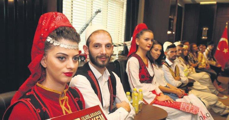 Balkanlar'ın tüm renkleri Bursa'da