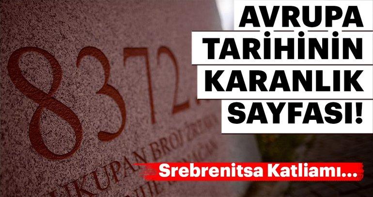 Boşnakların kapanmayan yarası Srebrenitsa! Bosna Hersek'teki Srebrenitsa Katliamı yıl dönümü...