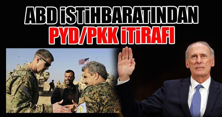ABD istihbaratından PYD/PKK itirafı