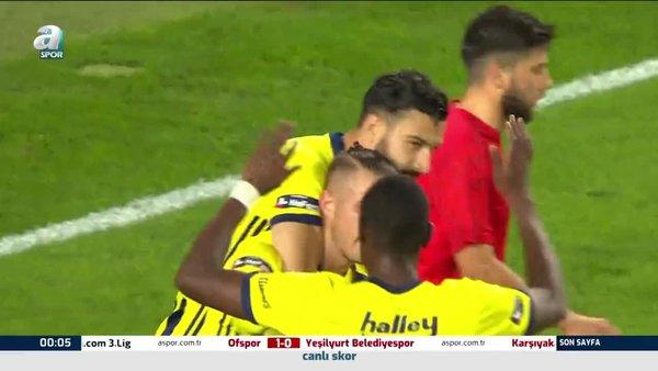 Fenerbahçe 4-0 Sivas Belediyespor (MAÇ ÖZETİ)