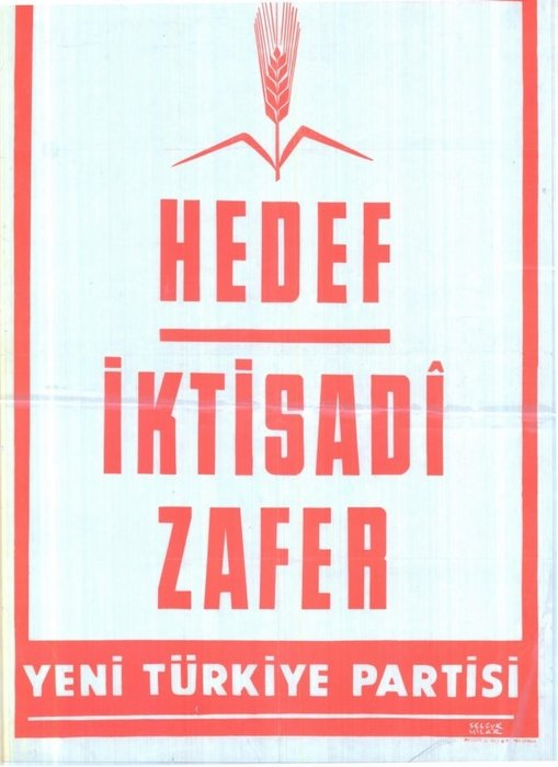 Seçim kazanan afişler