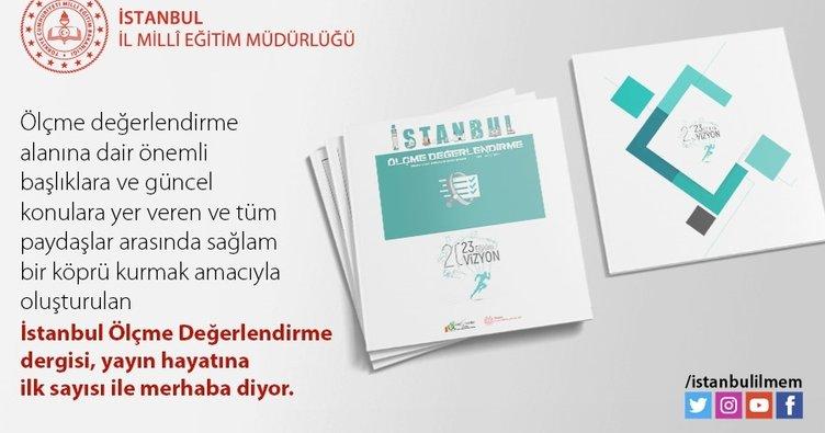 İstanbul İl Milli Eğitim Müdürlüğü'nden yeni dergi!