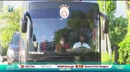 Galatasaray kafilesi Trabzonspor maçı için hareket etti!
