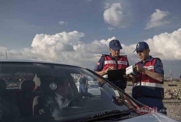 Trafik cezaları havadan tespitle geldi