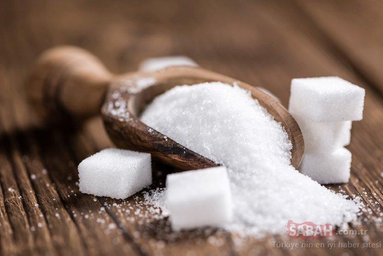 Her gün yediğimiz o besinde bakın kaç küp şeker varmış!