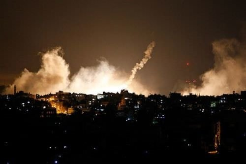 İsrail halkı katliamı böyle izledi