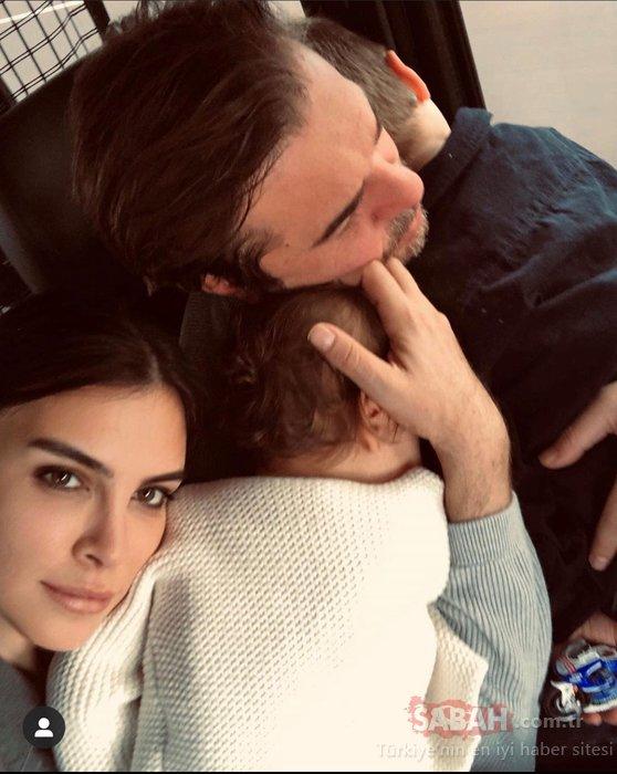 Ünlü çift Engin Altan Düzyatan ile Neslişah Alkoçla oğulları Emir'e poz verdi! İşte Engin Altan Düzyatan'ın oğlu Emir Düzyatan'ın objektifinden ünlü çiftin aşk pozu!
