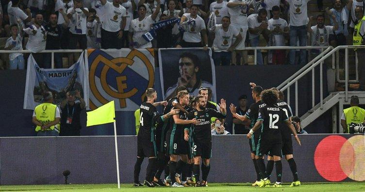 Real Madrid bir kez daha Avrupa'nın en büyüğü!