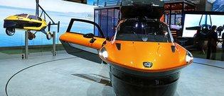 Dünyanın seri üretime geçilen uçan arabası tanıtıldı