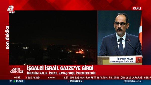 Son Dakika Haberleri: İşgalci İsrail'e tepkiler çığ gibi: Bu hukuksuzluk ve işgal derhal son bulmalıdır | Video
