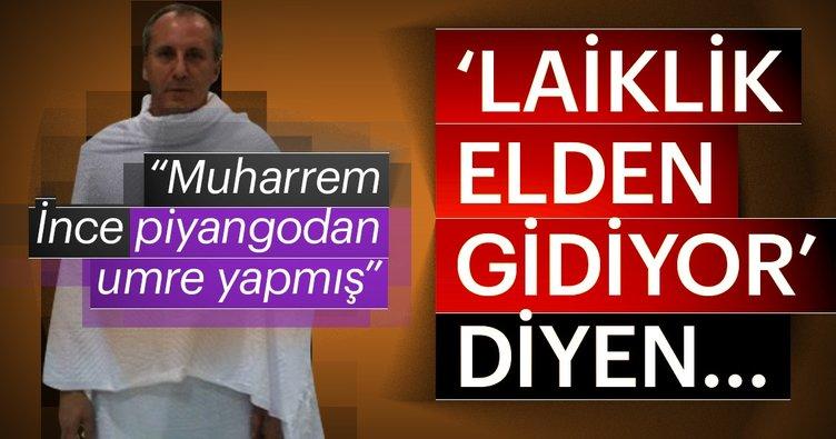 AK Partili Elitaş: Muharrem İnce piyangodan umre yapmış biri