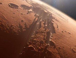 Mars'tan görüntüler şaşkına çevirdi! Dikkatli bakın!