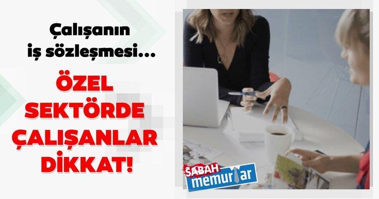 Sabah memurlar: Özel sektörde çalışanlar dikkat! Koronavirüs nedeniyle iş sözleşmesi...