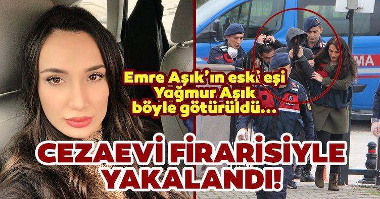 Son dakika: Emre Aşık'ın eski eşi Yağmur Aşık Düzce'de cezaevi firarisi bir kişi ile yakalandı!