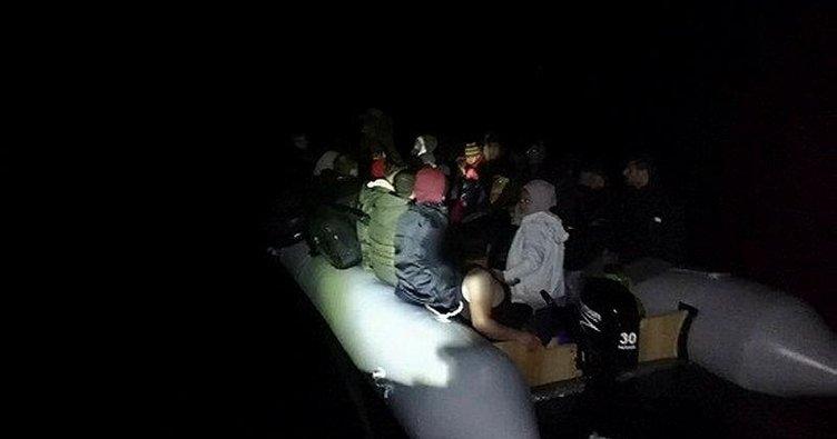 Kuşadası'nda 61 düzensiz göçmen yakalandı
