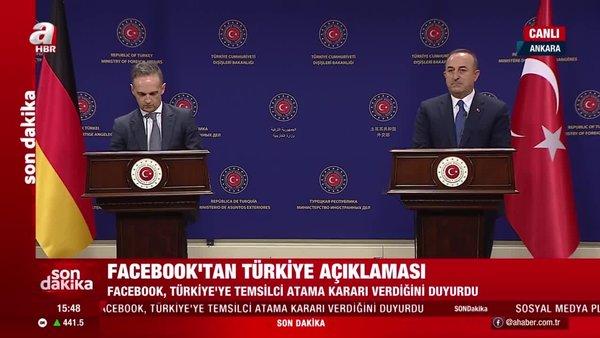 Son dakika! Dışişleri Bakanı Çavuşoğlu Alman mevkidaşı Heiko Maas ile ortak basın toplantısı düzenledi | Video
