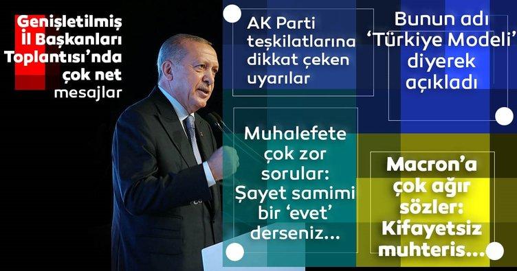 Son dakika: Başkan Recep Tayyip Erdoğan'dan AK Parti Genişletilmiş İl Başkanları Toplantısı'nda flaş açıklamalar
