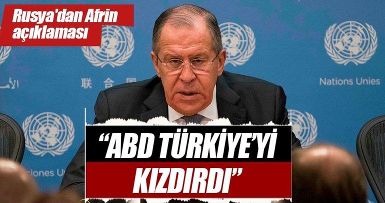 Rusya'dan kritik Afrin açıklaması