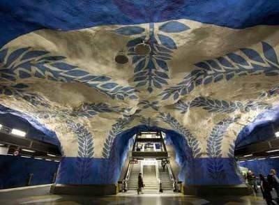 Dünyanın en etkileyici metro istasyonları