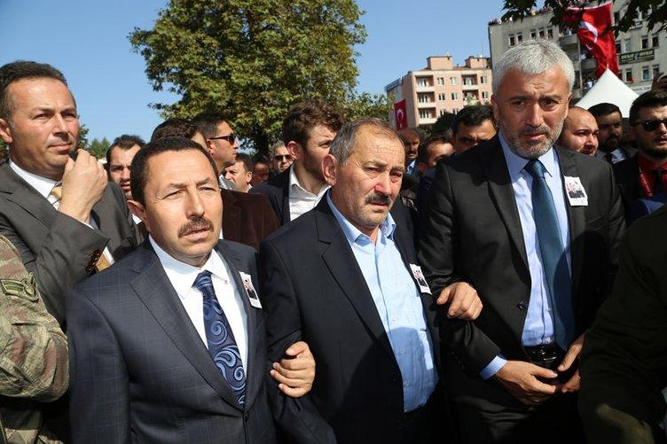 Şehit Uzman Onbaşı Öklük'ü 15 bin kişi uğurladı