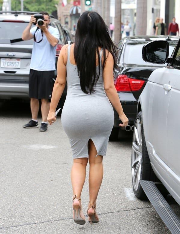 Kim Kardashian'ın hamilelik tarzı