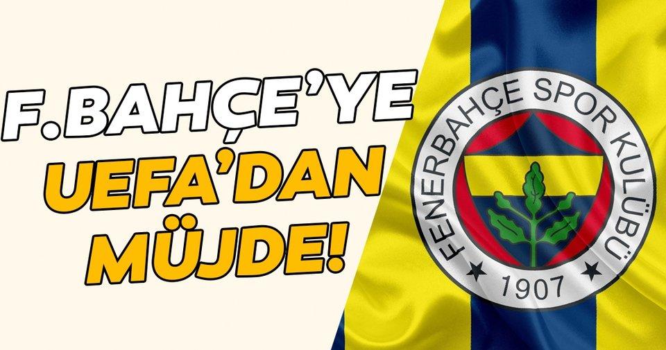 Fenerbahçe'ye UEFA'dan müjde! Finansal Fair Play...