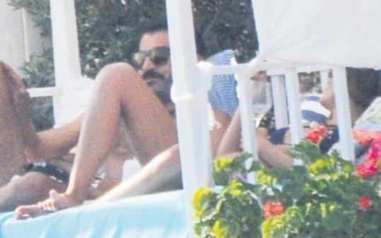 Kenan İmirzalıoğlu ile Berrak Tüzünataç'tan yılın aşk bombası