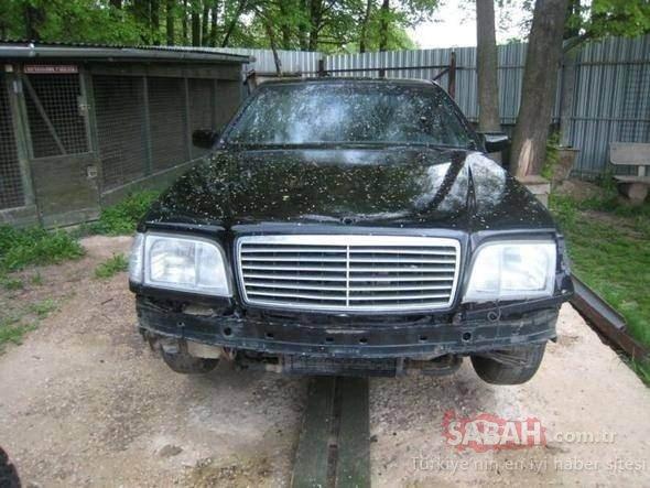 Mercedes arabayı canavara çevirdi! Bu Mercedes'in dünyada başka bir örneği yok!