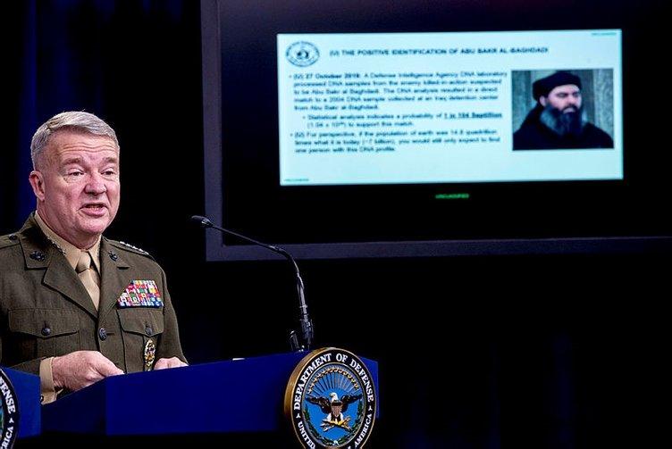 Son dakika: DEAŞ lideri Ebubekir el-Bağdadi'nin vurulma görüntüleri paylaşıldı! Orada saklanıyordu...