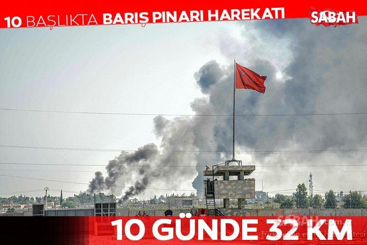 Barış Pınarı Harekatı'ndan son dakika haberi: YPG/PKK'lı hainler böyle gafil avlandı!