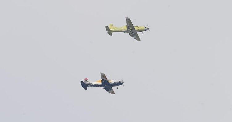 Yerli uçak HÜRKUŞ-B ilk testleri geçti!
