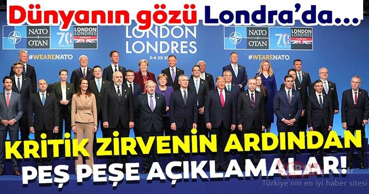 Londra'da gerçekleştirilen NATO Zirvesi'nden son dakika haberleri! NATO'dan flaş açıklama