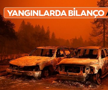 California'daki yangınlarda bilanço ağırlaşıyor