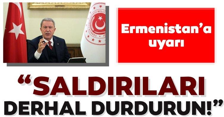 Son dakika: Türkiye'den Ermenistan'a uyarı: Saldırıları derhal durdurun!