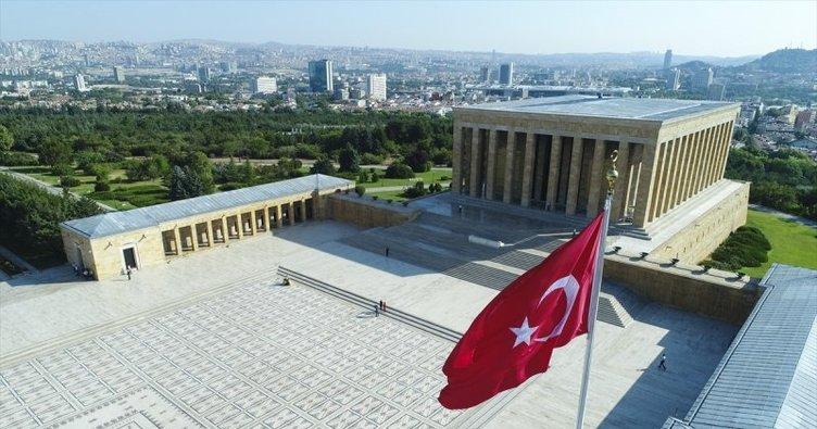 Cumhur İttifakı belediye başkanlarından Anıtkabir'e ziyaret