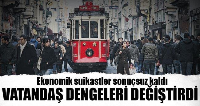 Türk Lirası'na vatandaş kalkanı