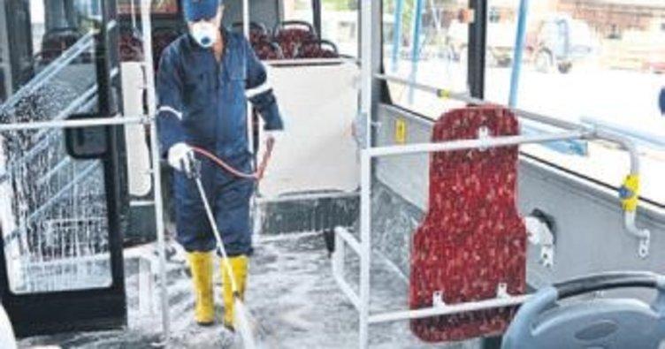 Belediye otobüsleri konforlu ve hijyenik