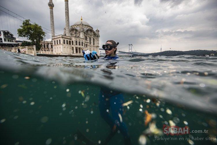 Şahika Ercümen İstanbul Boğazı'ndaki kirliliği fotoğrafladı...