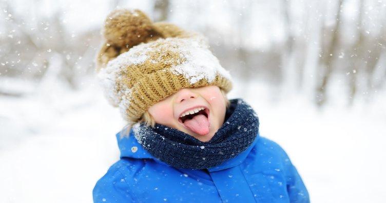 Çocuklar karda birçok duygusal deneyimi yaşar