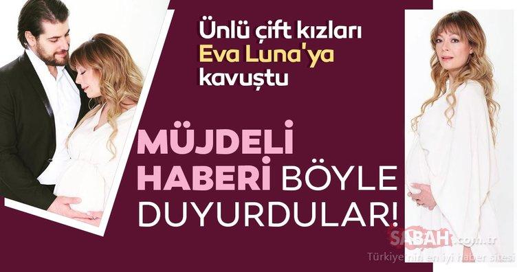 Çiçeği burnunda anne Özge Özder ile Sinan Güleryüz kızları Eva Luna'ya kavuştu! Müjdeli haberi sosyal medyadan böyle duyurdular!